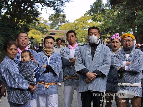 神楽會さん。 地元は千葉・行徳。10月第2週。相之川日枝神社が大祭です。その他は、湘南・茅ヶ崎の浜降祭がおススメ。祭りは日本の文化だよね。