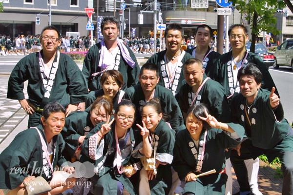 西神田町会さん。祭はいいよね。おススメの祭は?千歳烏山・烏山神社例大祭。9月23日~24日!