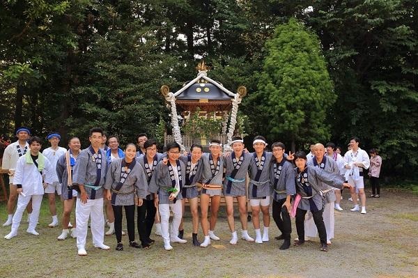 〈GP-17008〉 田代健さん:瀧尾神社八坂祭・2017年7月8日