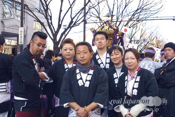 風彩會 さん。埼玉、中野などでも担いでます!