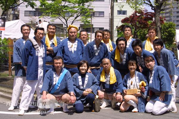 天翔會さん。伊豆七島大島祭から東京有名祭、春日部、野田、柏まで担いでいます!