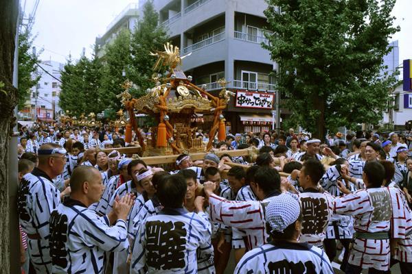 北澤八幡神社例大祭_008 ©北澤八幡秋祭り実行委員会