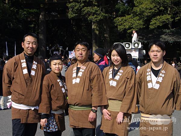 立川北睦さん。 地元は立川諏訪神社。祭りは8月第4週です。一昨年は御鎮座1,200年で盛大でした。祭りの魅力は、地元とのつながり。そして楽しいですよね。