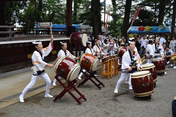 北澤八幡神社例大祭_002 ©北澤八幡秋祭り実行委員会