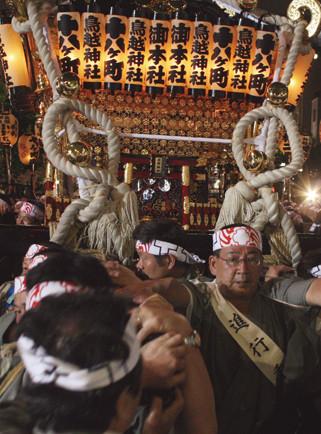 〈TORIGOE Shrine Festival〉Torigoe, TOKYO ⓒreal Japan 'on!