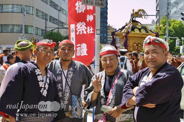 北神町会會さん。三崎稲荷神社さんの他でおススメの祭は?9月第四土日、5年一度の本郷・櫻木神社例大祭!