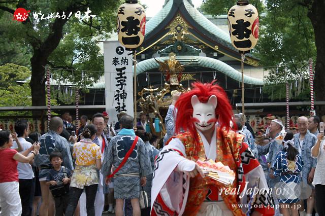 〈王子神社例大祭〉各町連合宮出し @2012.08.05