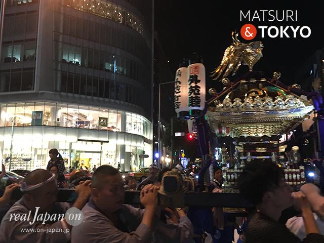 青山熊野神社例大祭 外苑町会宵宮渡御 @2017.09.30