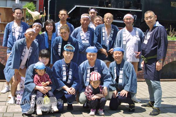江戸・砂塵睦さん。東京の祭は結構いくよ。地元は江東区砂町・富賀岡八幡宮。来年は4年に1回の大祭だよ。