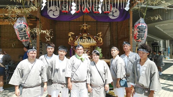 〈GP-18005〉 浦安當穆 坂本真実さん:深川八幡祭り・2018年8月11日