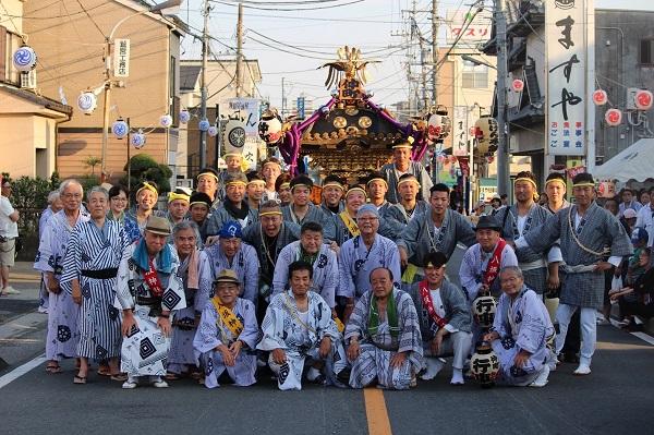 〈GP-18003〉 松井永一さん:吉川八坂祭り・2018年7月15日