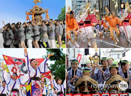 Hibiya Oedo Matsuri, Hibiya Park Tokyo, Japanese culture iben, June 8th-9th-10th  2018,  Japanese food & Matsuri fair, MIKOSHI, Awa-odori, JPAN traditional music, ENNICHI,