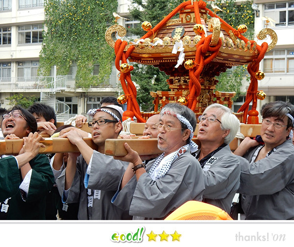 svanejyuさん:王子神社檜祭