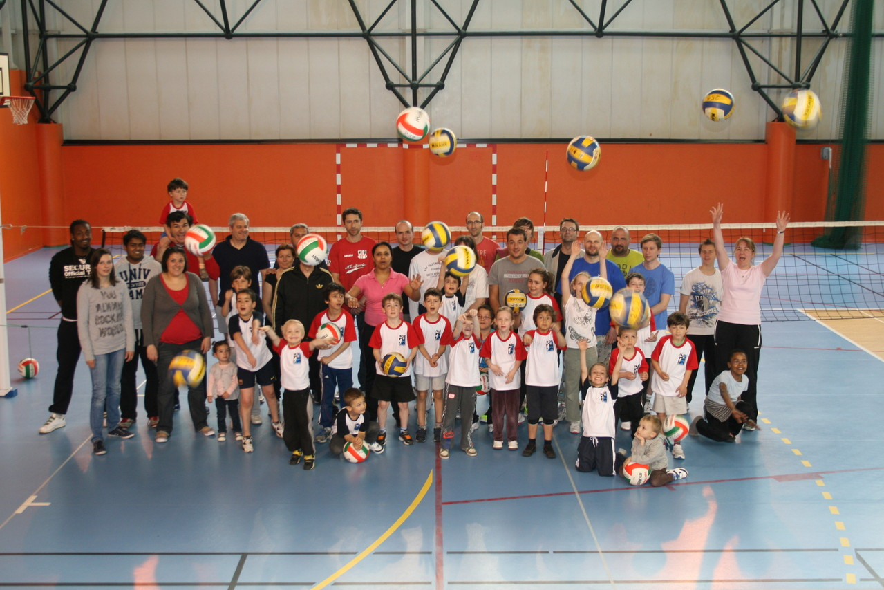 Le volley c'est fun!