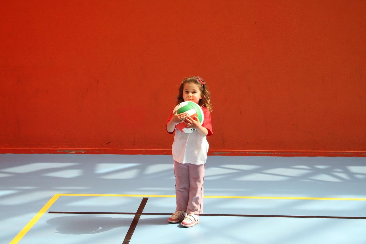 C'est mon ballon de volley!