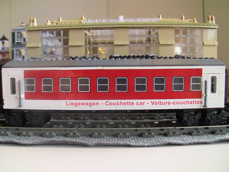 MOC Autozug Liegewagen