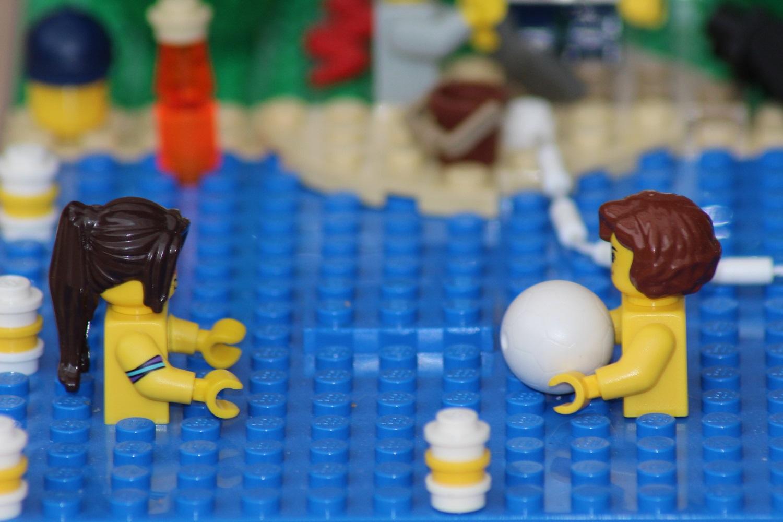 Wasserballspiel