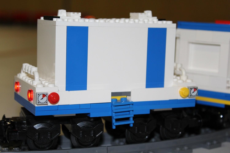 THW Eisenbahn Generator-Waggon