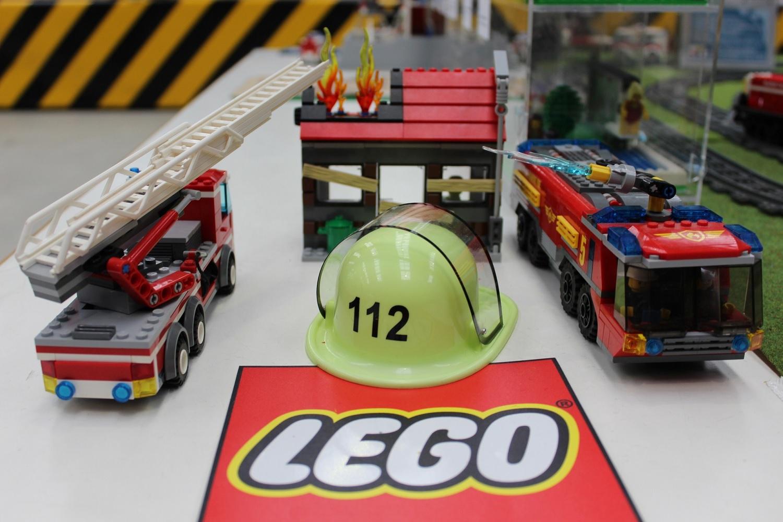 Diorama Feuerwehr