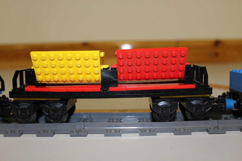 Lego-MOC Doppel-Lore-Waggon