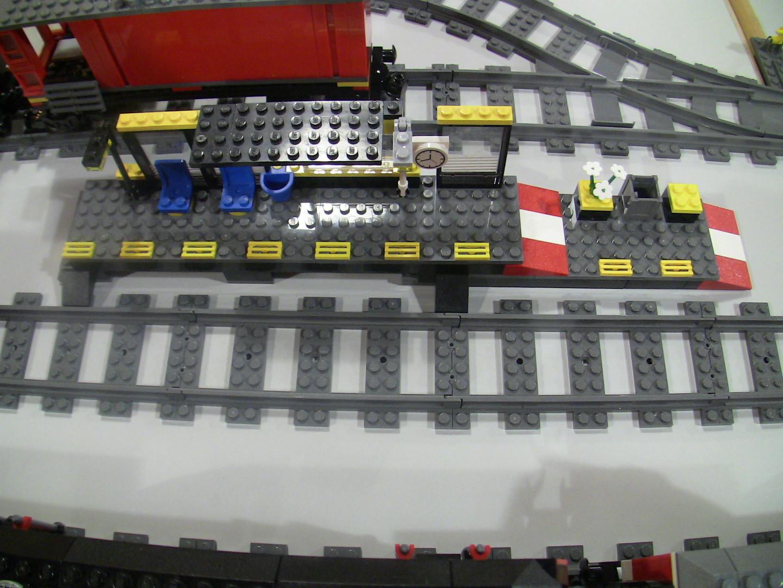 Kleiner Bahnhof MOC barrierefrei