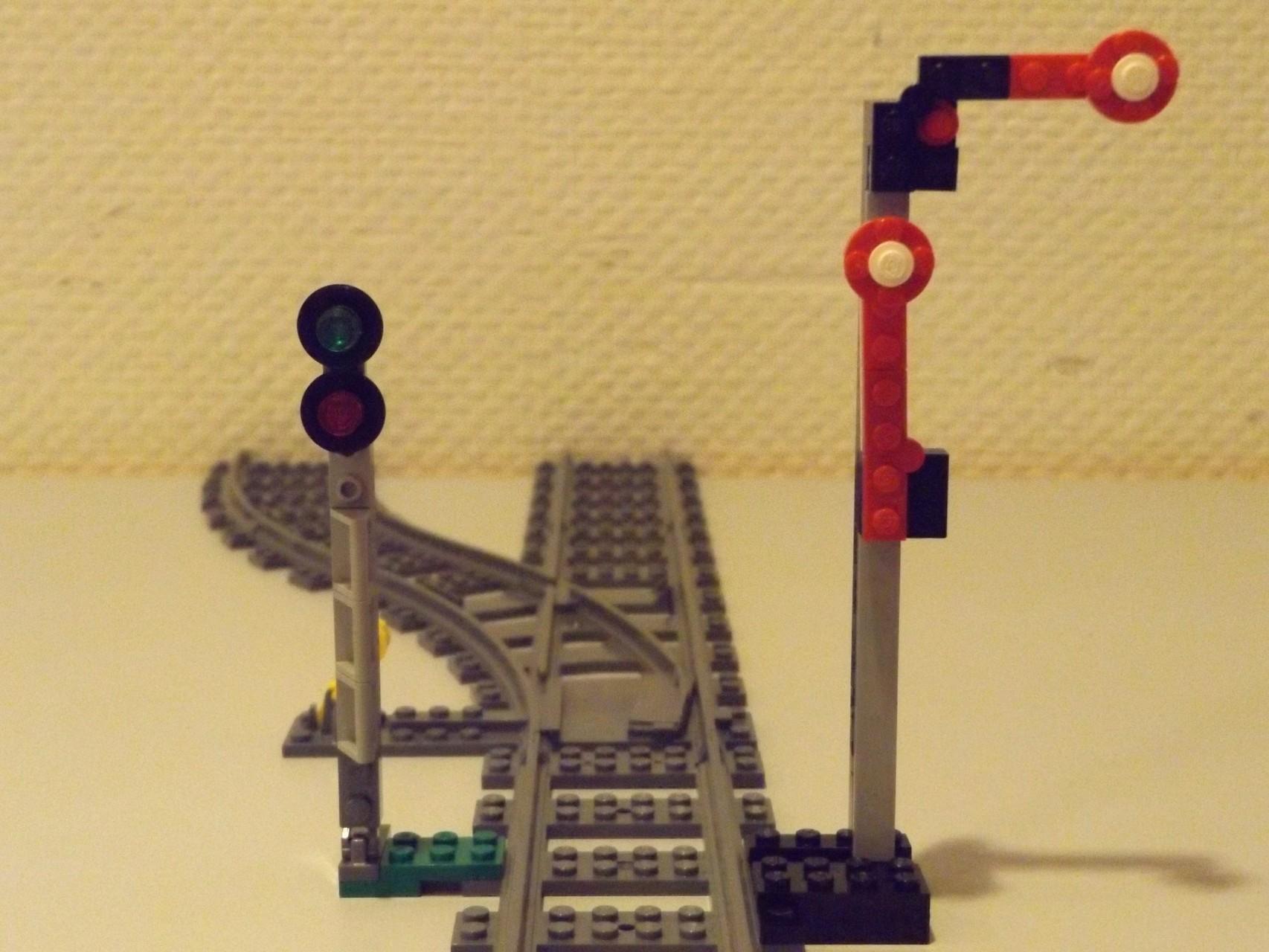 MOC Eisenbahn-Signal, mechanisch