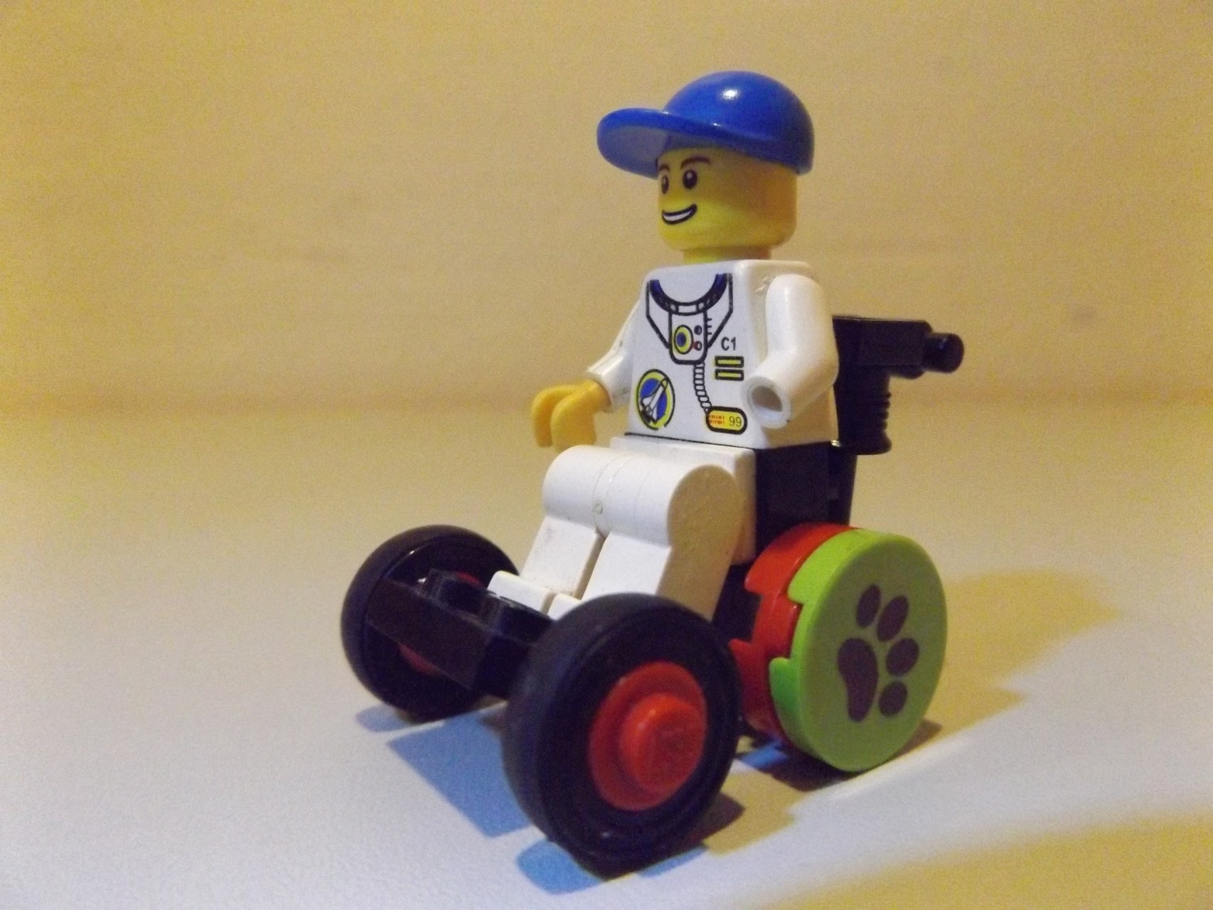Rollstuhlfahrer/in im Rolli