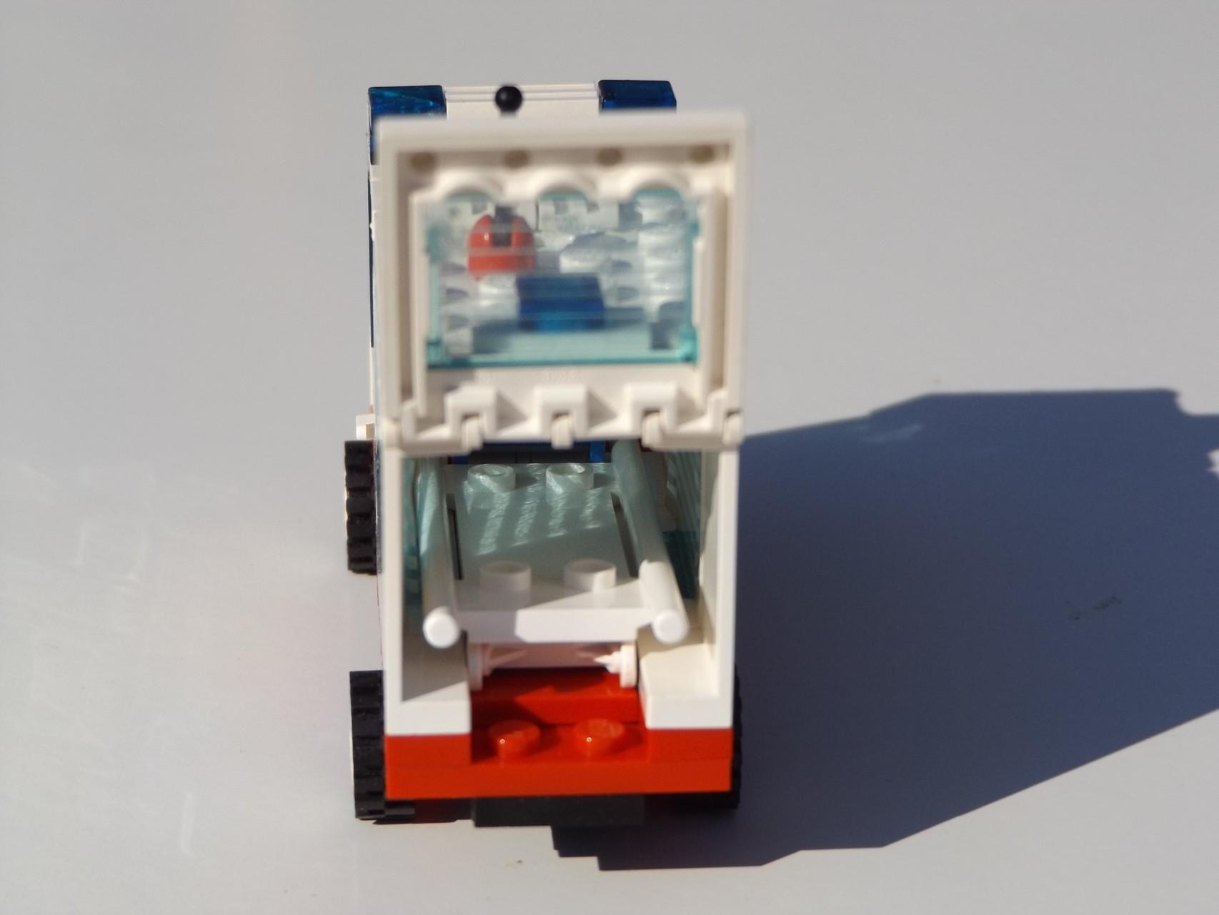 Krankenwagen Innenraum
