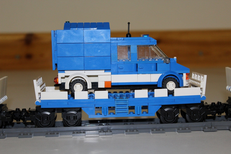 THW Eisenbahn-Waggon mit MLW 5