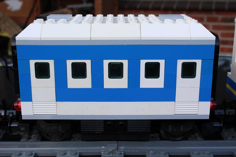 THW Eisenbahn Personenwagen