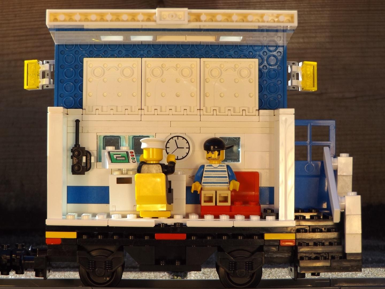 Polizeizug Büro-Waggon