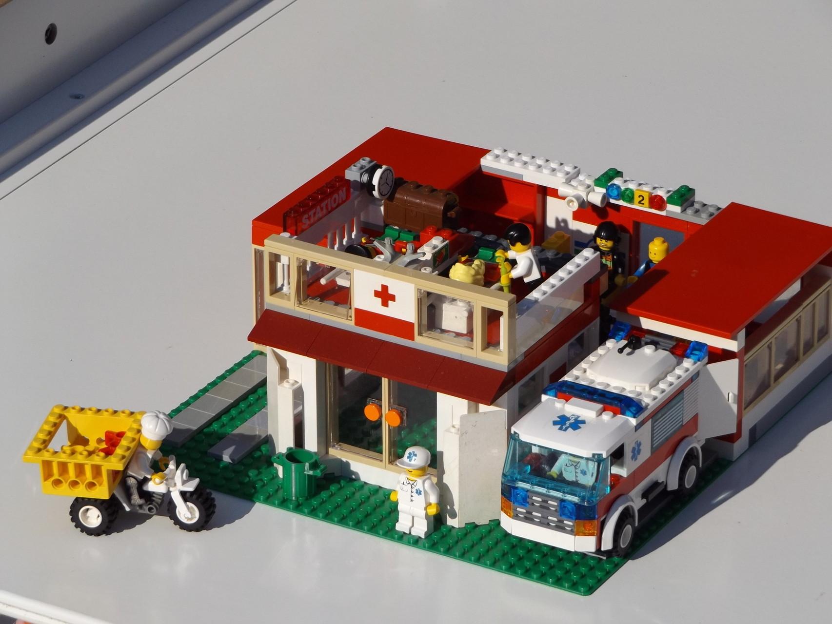Leben rund um das Krankenhaus