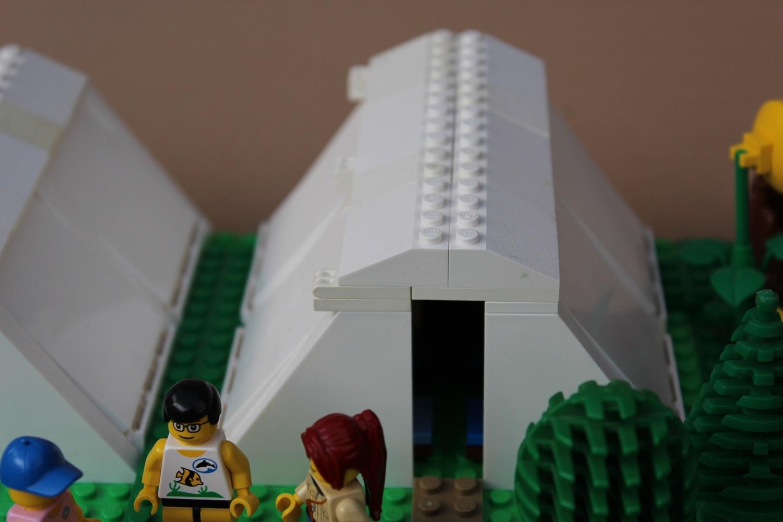 Legozelt MOC klappbar
