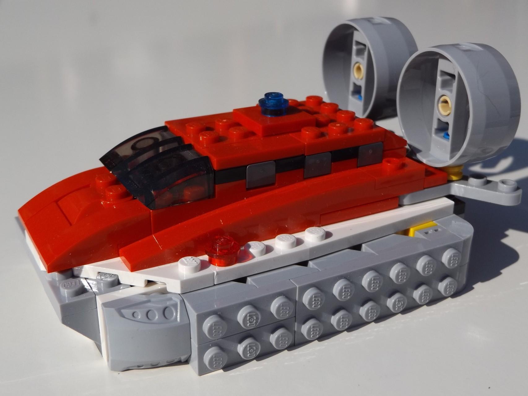 Lebensretter Hovercraft 31003 (3in1)