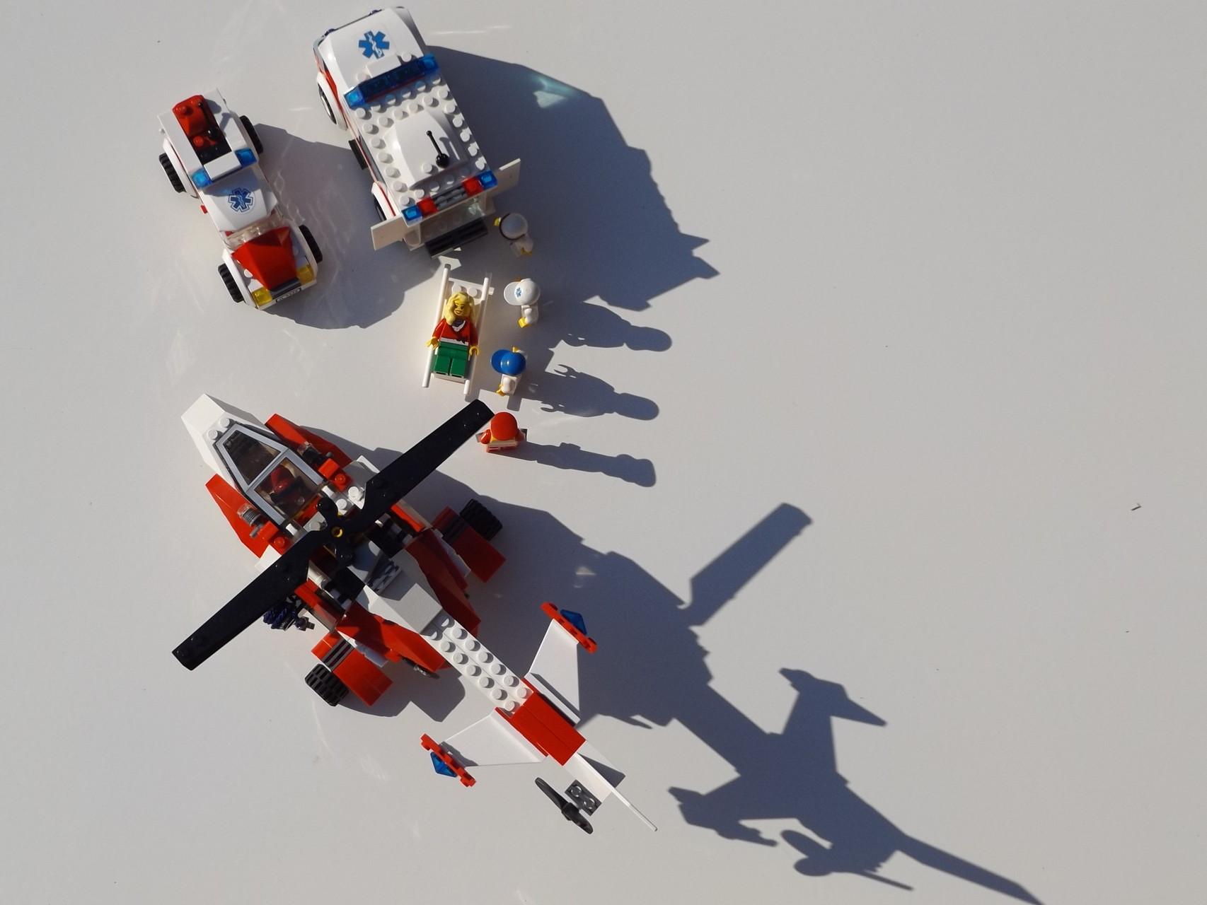 Rettungs-Helicopter 7903 Nachbau