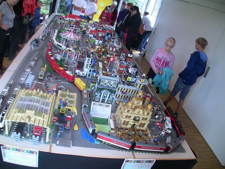 MOC Autozug auf der Gemeinschaftanlage Steinhanse 2014