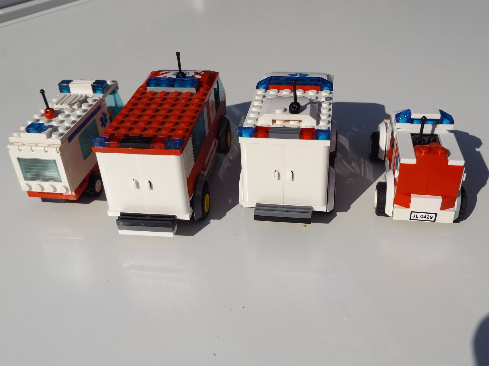 Krankenwagen-Flottille
