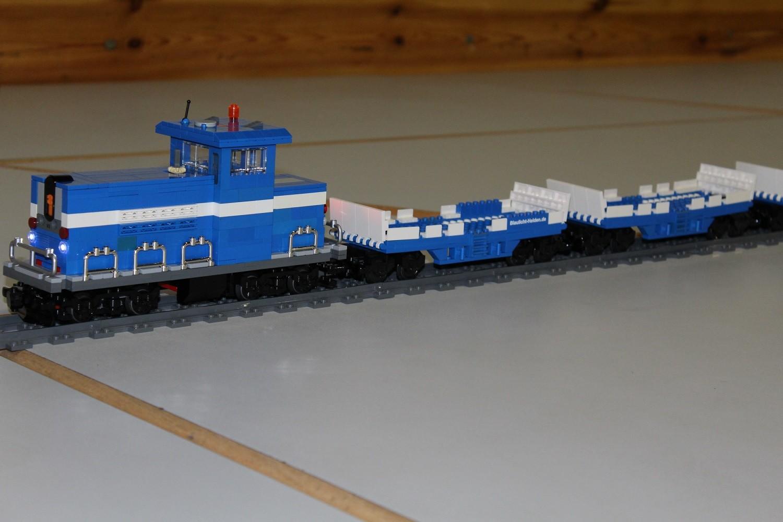 THW Eisenbahn-Transportwaggons für THW-Fahrzeuge