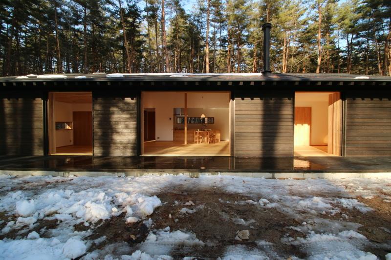 赤松林の家