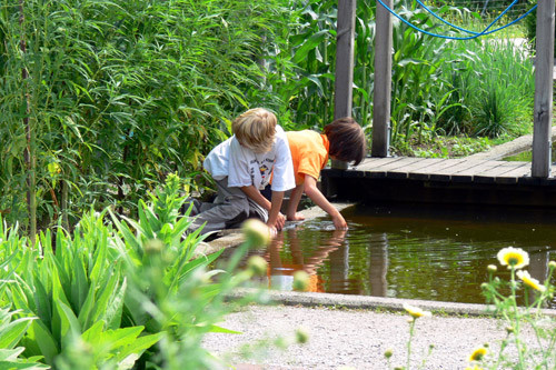 Kleine Forscher im Rauschgarten