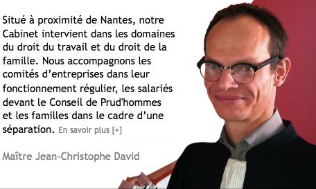 Jean-Christophe DAVID Avocat