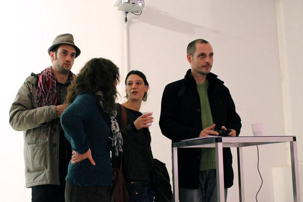 Fludd - joueurs et spectateurs - HB3D, galerie 14 / Glassbox, Paris, 2010