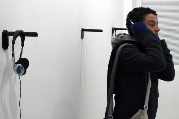 Normographe sonore, galerie 14 / Glassbox, Paris, 2010