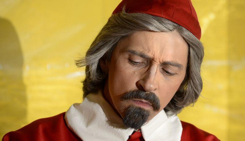 Kardinal Richelieu (Holger Schlosser) - Machtmensch, aber auch Schöngeist  | Foto: M. Niethammer