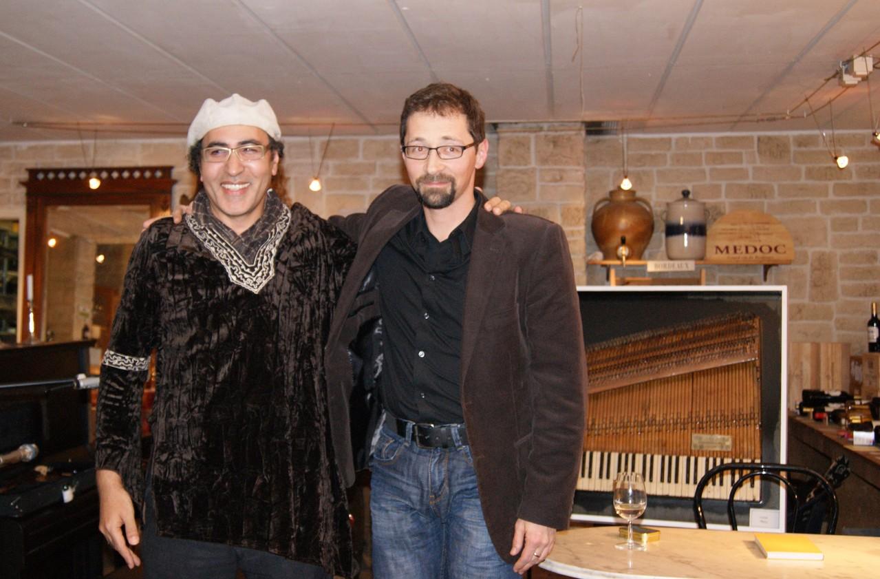 Chaouki Smahi und Holger Schlosser genießen den Applaus | Foto: T. Riehle