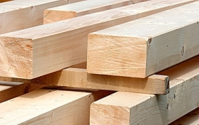 Bild mit Holzlatten