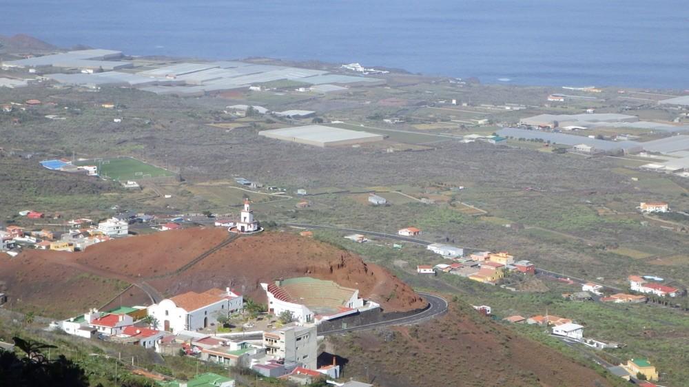 """Auf dem """"Camino Jinama"""". Blick auf Frontera @ El Hierro"""