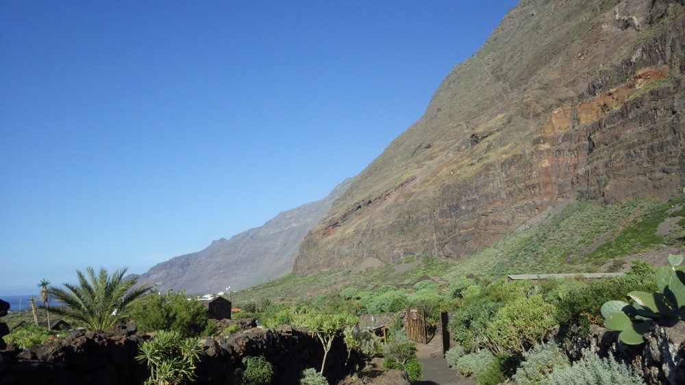 """Spaziergang durch das """"Ecomuseo de Guinea""""@ El Hierro: hier wohnten einst die Bimbaches (Ureinwohner von El Hierro)."""