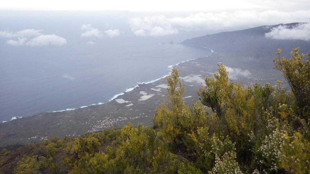 Lohnenswerte Aussicht vom Malpaso aus 1.501 Höhenmetern. @ El Hierro