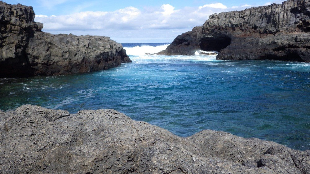 Und nur die Wellen sind zu hören....@ El Hierro